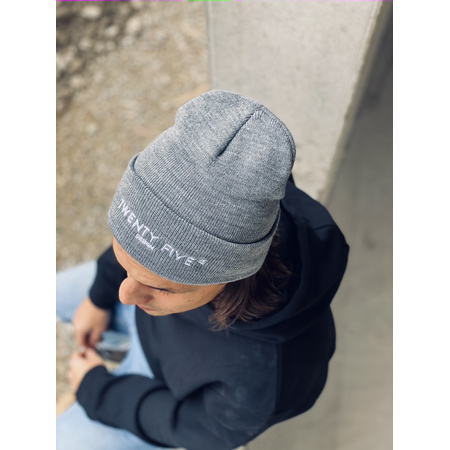 Beanie - Twenty Five Design grau